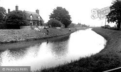 Wainfleet All Saints, The River Steeping c.1955
