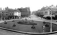Wakefield, the Bull Ring c1955