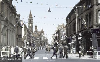 Wakefield, Wood Street c1953