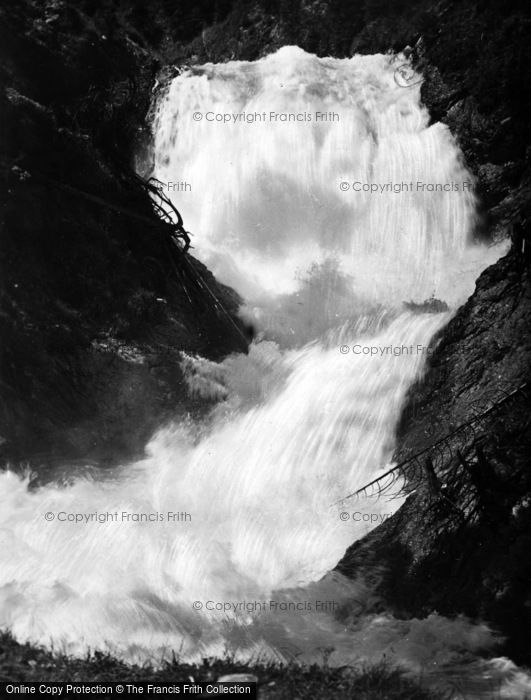 Photo of Walchensee, A Waterfall c.1930