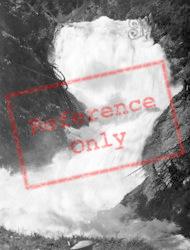 A Waterfall c.1930, Walchensee