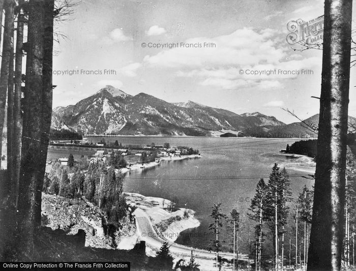 Photo of Walchensee, The Pass And Joahberg c.1930