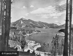 The Pass And Joahberg c.1930, Walchensee