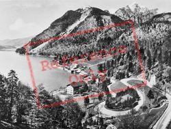 With Wettersteinwand, Hergostand And  Kesselberg Pass c.1930, Walchensee