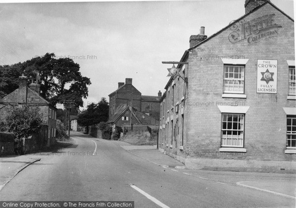Photo of Walcote, The Village c.1955