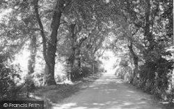 Fishponds Lane c.1955, Waldringfield