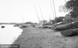 The Beach c.1955, Waldringfield