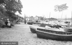 The Beach c.1960, Waldringfield