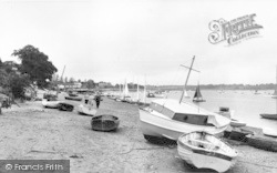 The River Deben c.1955, Waldringfield