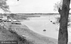 The River Deben c.1960, Waldringfield