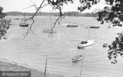 The River From The Cliff c.1955, Waldringfield