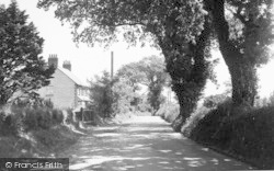 The River Road c.1955, Waldringfield