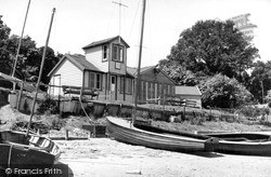The Sailing Clubhouse c.1955, Waldringfield
