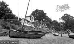 The Yacht Club c.1955, Waldringfield