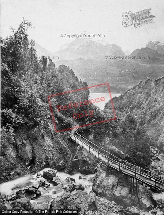 Photo of Walenstadt, The Murchenstuck c.1860