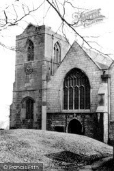 Church Of St John The Baptist c.1955, Wales
