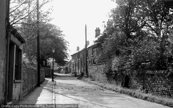 Wales, Church Street c1955