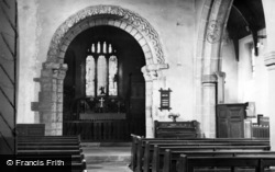 The Norman Arch, Parish Church c.1955, Wales