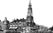 Walkden, the Monument c1955