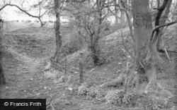 Walkern, Castle Earthwork c.1950
