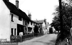 Walkern, Church End c.1960