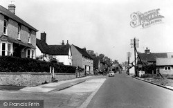 Walkern, High Street c.1960