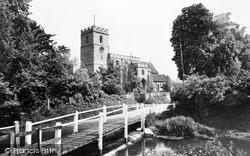 Walkern, The Church Of St Mary The Virgin c.1960