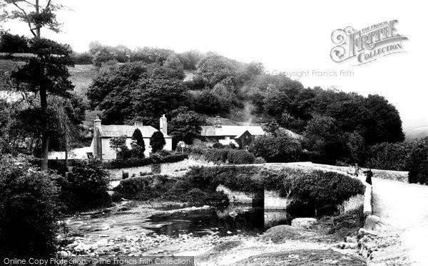Walkhampton, Huckworthy Bridge 1910