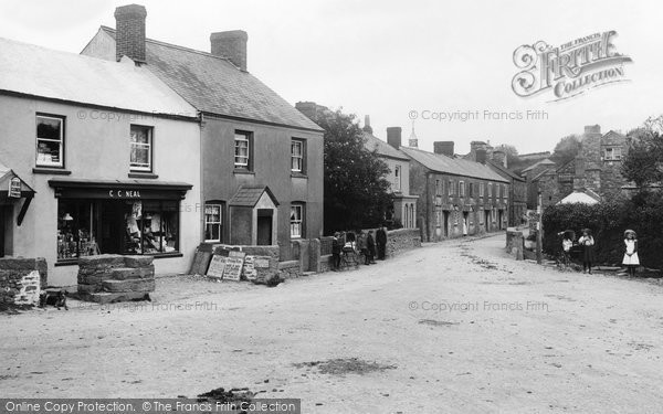Walkhampton, the Village 1910