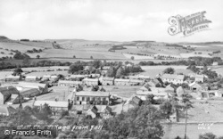 Wall, The Village From Fell c.1955