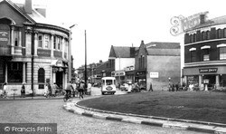 Wallasey, Capitol Roundabout c.1960