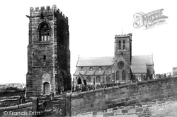 Wallasey, Church And Tower 1895