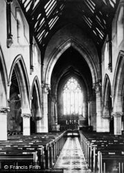 Wallasey, Church Interior c.1876