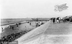 Wallasey, Harrison Drive Beach c.1965