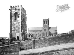 Wallasey, St Hilary's Church And The Tower c.1873