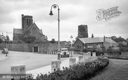 Wallasey, St Hilary's Church c.1950
