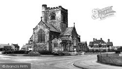 Wallasey, St Nicholas's Church c.1960