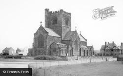 Wallasey, St Nicholas's Church c.1965