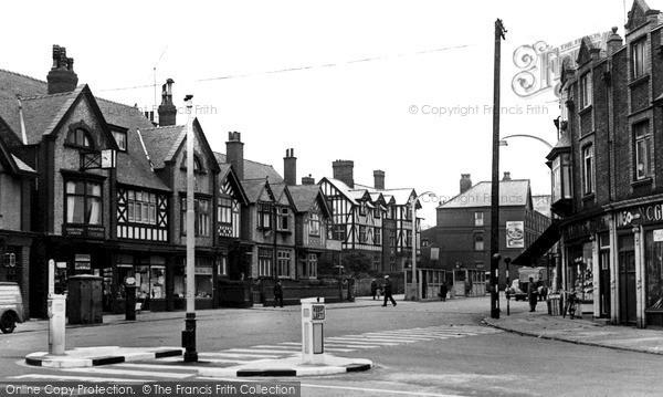 Wallasey, The Village c.1955 - Francis Frith
