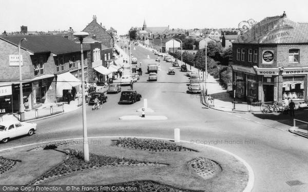 Photo of Wallasey, Village, looking towards Harrison Drive c1965