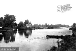 From Winterbrook Ferry 1890, Wallingford