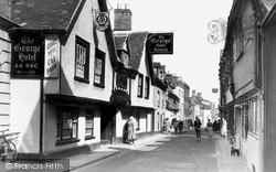 High Street c.1950, Wallingford