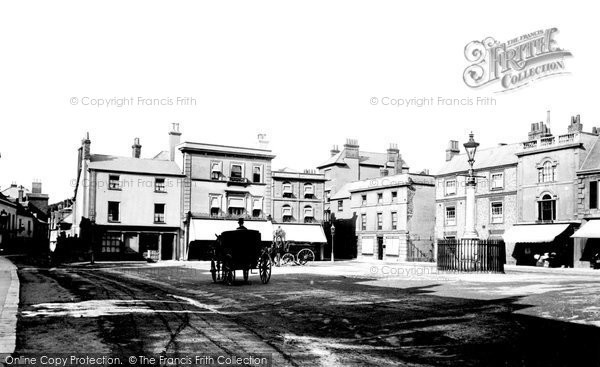 Wallingford, Market Place 1893