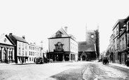 Wallingford, Market Place and Church 1893