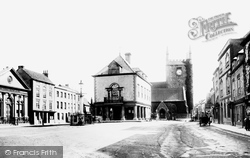 Market Place And Church 1893, Wallingford