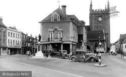 Market Place c.1950, Wallingford