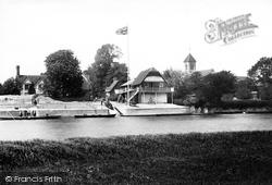 St Leonard's Church And Lower Wharf 1893, Wallingford