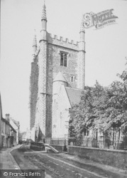 Wallingford, St Mary's Church Tower 1893