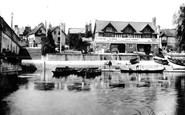 Wallingford, the Bridge Boat House 1899