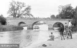 Wallingford, The Bridge c.1955